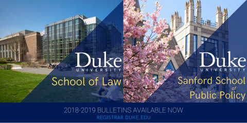 Law and Sanford bulletin announcement